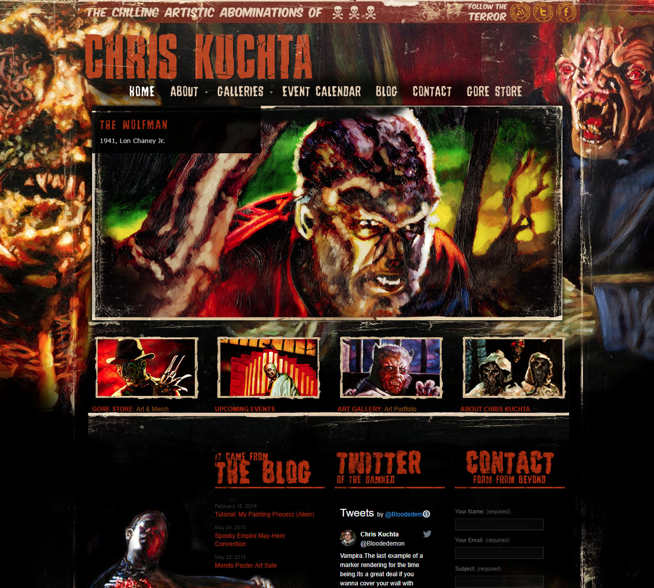 Chris Kuchta<div style='clear:both;width:100%;height:0px;'></div><span class='desc'>Web Design / Development - Produced in collaboration with Black Rat Media</span>